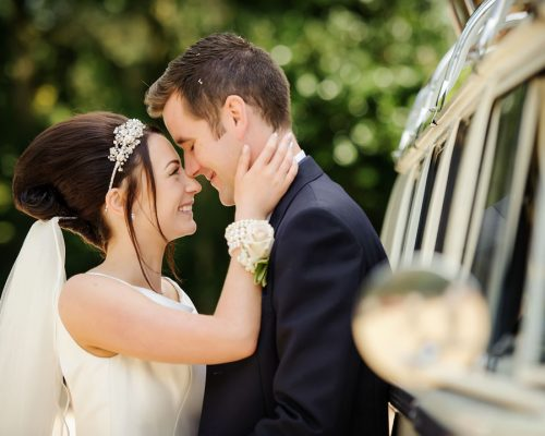 dower house hotel wedding couple