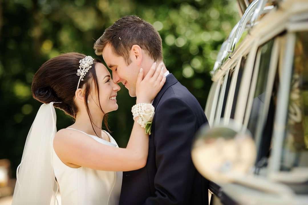 dower house hotel wedding couple