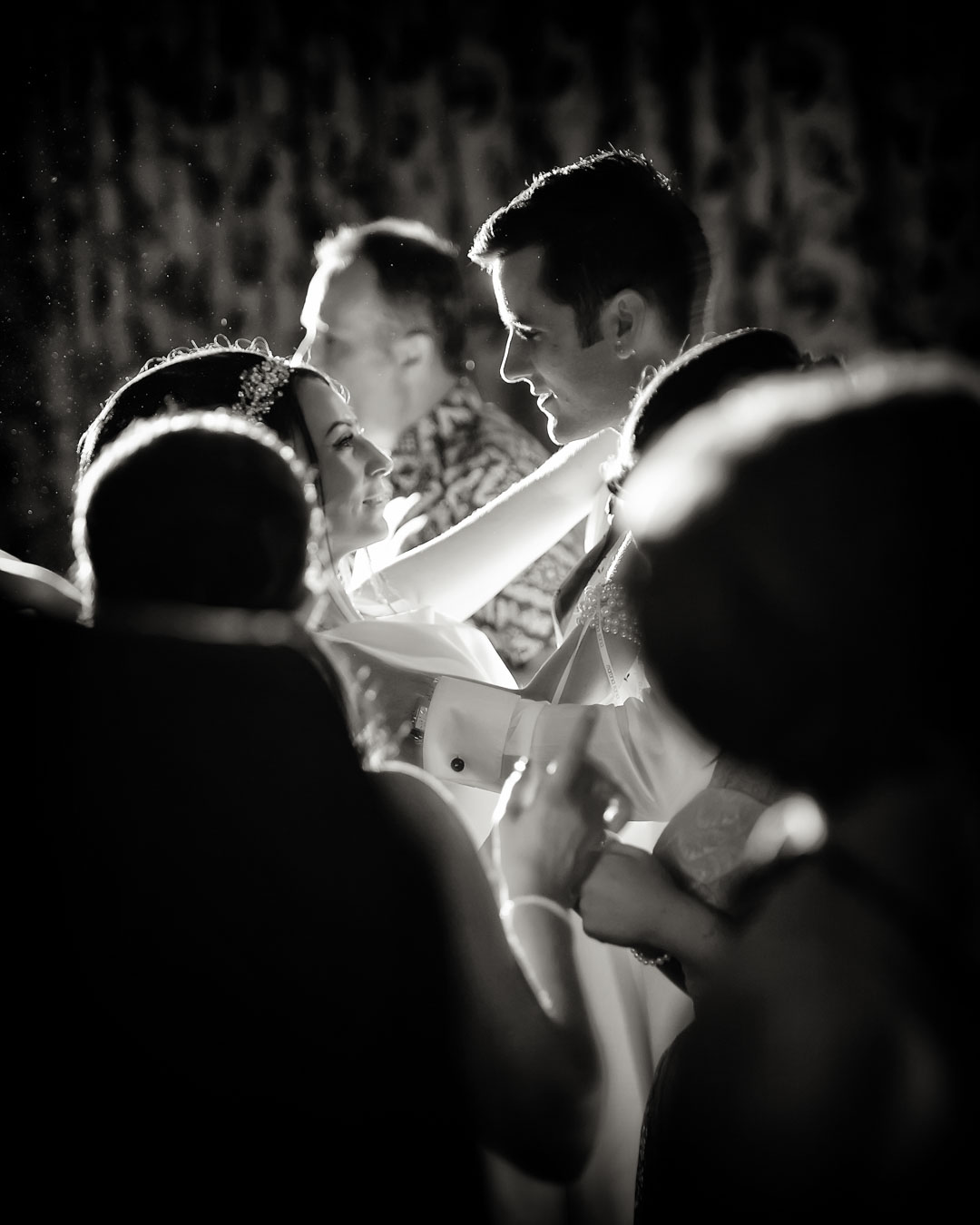 bride and groom first dance wood hall spa wedding lincolnshire