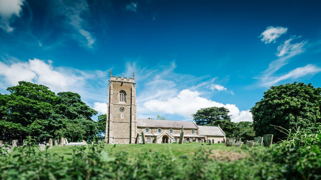 St Helens Church Spilsby lincolnshire