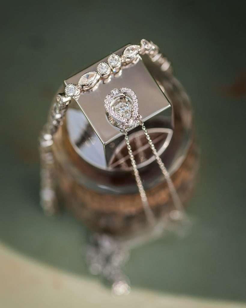 perfume and bracelet