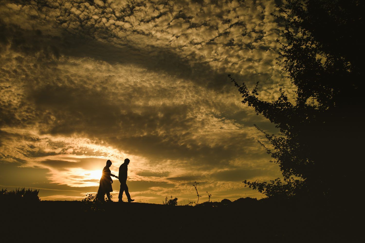 engagement photography at Kenwick park hotel