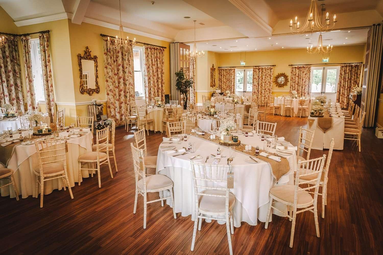 dower house hotel wedding room