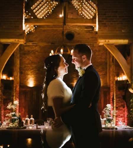 bride and groom by lincolnshire wedding photographer